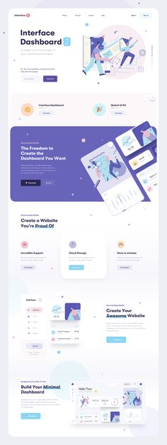 User Interface Design Inspiration : Every day most digital designers look for inspiration on sources like Dribbble or Behance for mobile and. Website Layout, Web Layout, Layout Design, Website Ideas, Design Sites, Page Design, Design Web, Real Estate Landing Pages, Best Banner