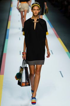 Fendi Spring 2013 Ready-to-Wear Fashion Show: Complete Collection - Style.com