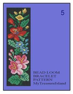 Bead Loom Floral Border 3 4 5