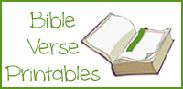 Bible Verse Printables and Resources