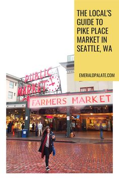 The local's guide to Pike Place Market in Seattle, WA. Avoid tourists at this Seattle attraction and find thhe best restaurants near Pike Place Market. #pikeplacerestaurants #pikeplacemarketfood #bestrestaurantsnearpikeplace #seattlefoodbucketlist #seattlefoodguide #foodtoursinseattle #bestplacestoeatinpikeplacemarket #whattoeatinpikeplacemarket #pikeplacepublicmarket #pikeplacemarket #bestrestaurantsinseattle #bestfoodpikeplacemarket #seattlefoodtour #wheretoeatinpikeplacemarket Best Restaurants In Seattle, Seattle Food, Pike Place Market, Emerald City, City Style, Usa Travel, Pacific Northwest, British Columbia, North West