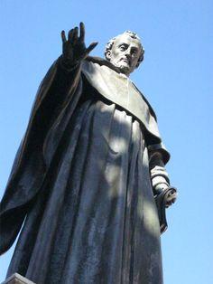 A statue in Salamanca, Spain.