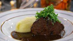Recept av Paul Svensson | SVT recept Wok, Fine Dining, Mashed Potatoes, Steak, Beef, Ethnic Recipes, Dinners, Whipped Potatoes, Meat