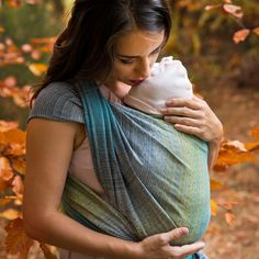 Light and Colours – Impressions of a sunrise – colours and bliss of Sunrise Colors, Baby Sling, Woven Wrap, Grey Yellow, Yellow Turquoise, Baby Wraps, First Baby, Baby Wearing, Gradient Color