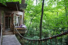 Travel Notes: Secluded Intown Treehouse  Secluded Intown Treehouse