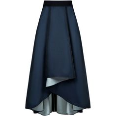 Sachin & Babi - Philip maxi full skirt ($487) ❤ liked on Polyvore featuring skirts, long maxi skirts, layered skirt, hi low skirt, hi lo maxi skirt and high low maxi skirt