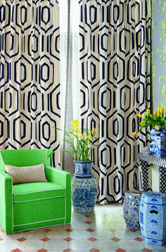Jim Thompson fabrics - Bonsai of the vanities - www.tandco.co.za