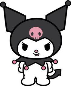 Kuromi Hello Kitty Clipart, Hello Kitty Crafts, Hello Kitty Cake, Hello Kitty Iphone Wallpaper, Emo Wallpaper, Hello Kitty Characters, Sanrio Characters, Pinturas Disney, Cat Stickers