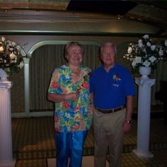 My Mom and Dad at their (surprise) vow renewal ceremony