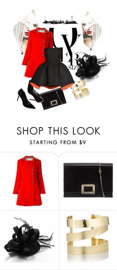 """""""Untitled #41"""" by dijanakovacevic ❤ liked on Polyvore featuring mode, Aquilano.Rimondi, Roger Vivier, Étoile Isabel Marant et Parlor"""