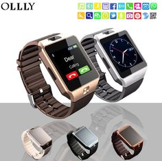 Smart Watches Wearable Devices 2019 Bluetooth Smart Watch Men Women Q18 With Touch Screen Big Battery Support Tf Sim Card Camera For Android Phone Smartwatch Delicacies Loved By All