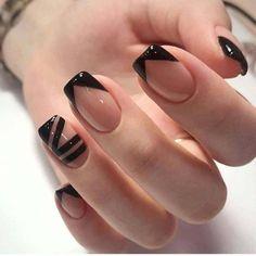 Best Acrylic Nails, Acrylic Nail Designs, Nail Art Designs, Nails Design, French Nail Designs, Cute Nails, Pretty Nails, Milky Nails, Nagellack Design