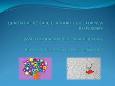 A qualitative research guide for new researches. Research, Meant To Be, Reading, News, Search, Reading Books, Science Inquiry