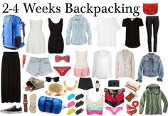 The stylish backpacker (europe) by diamte  This is not for camping, just backpacking