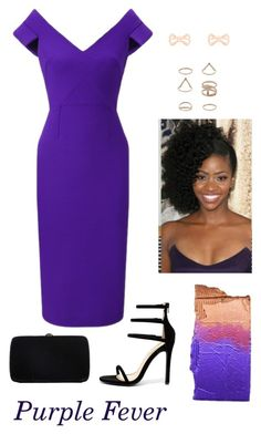 """""""Purple = Royalty"""" by laurel-chelsea ❤ liked on Polyvore featuring Roland Mouret, Liliana, Sergio Rossi, Miss Selfridge and Ted Baker"""