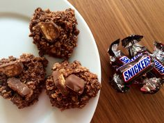 No bake Snickers coockies – Sport Foodblog