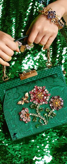 Dolce & Gabbana Women's Botanical Garden Collection Fall Winter 2016 2017