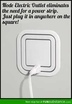 Node Electric Outlet. Well, I never! Wow. So one can plug in, literally all of the way around that thingy? Where have I been living that I haven't seen this before now!??