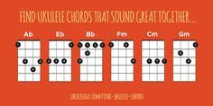Ever struggle to know which chord to play next? Check out my tool to help you find ukulele chords that sound great together!