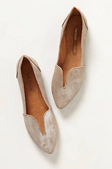 the best of a flat and a loafer combined. and i always think metallic is the most versatile neutral
