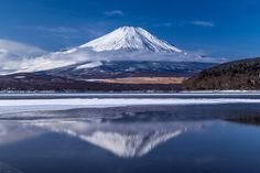 Winter Mirror Lake by Keygee Sekimoto on 500px