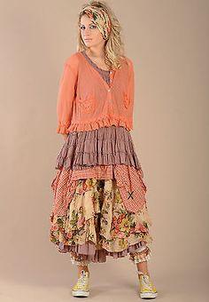 Shabby Chic Home Decor Gypsy Style, Bohemian Style, Boho Chic, Shabby Chic, Layered Fashion, Funky Fashion, Look Fashion, Robes Country, Country Dresses