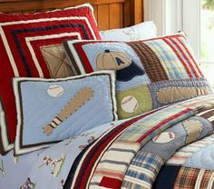 Boys quilt | Ultimate Sports Bedding for the Ultimate Tween or ... : sports quilt bedding - Adamdwight.com