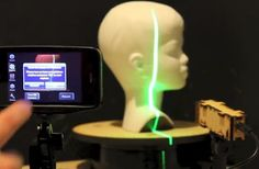 Use Your Smartphone as a 3-D Scanner