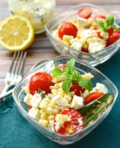 Summer Corn & Tomato Salad with Jalapeno