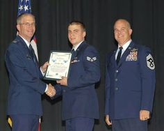 Ryan Dalton Rinn was promoted to Senior Airman yesterday at McConnell AFB Wichita, Kansas. He is the son of Donna Rinn of Malakoff.