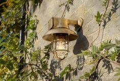 Be inspired by our nautical brass outdoor Britannia Ship's Light, for your electric garden lighting ideas. Ideal for porch, security lighting & sensor. Outdoor Wall Lighting, Exterior Lighting, Outdoor Walls, Outdoor Lantern, Modern Properties, Small Lanterns, Modern Rustic Homes, Natural Building, Outdoor Settings