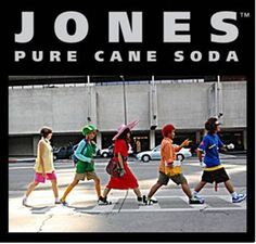 Jones Soda bottles