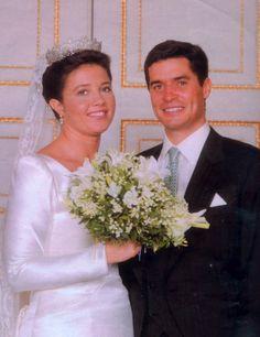 Princess Alexia of Greece (1965) and Carlos Morales y Quintana (1970)