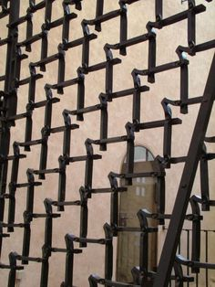 Heigo Jelle, Detail of lattice, Tartu Jaani (St John's) Church, Estonia, photo: Heigo Jelle