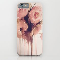 weeping roses iphone case, pin roses abstract watercolour bouquet http://society6.com/product/weeping-roses-wp3_iphone-case#9=124&52=377
