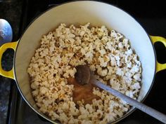 This blogger made popcorn several ways (stovetop, microwave, caramel etc). Lots of inspiration for a great snack....and no nasty microwave popcorn chemicals!