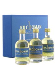 Kilchoman Miniature Gift Pack: A gift pack like this is a surefire way of pleasing a Islay whisky keen friend. Also good to see how this young distillery has changed over the years.