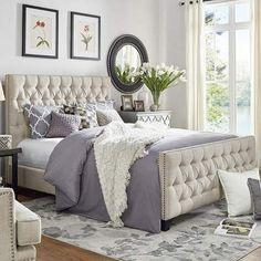 Nice bed & bedding #bed #bedding #afflink
