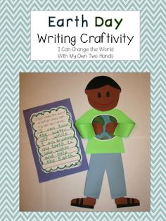With My Own Two Hands a FREE Earth Day Writing Craftivity