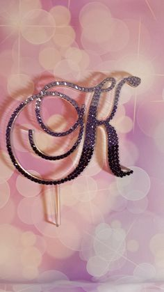 Ready To Go Purple Ombre Monogram Initial by SpectacularEvents, $85.00