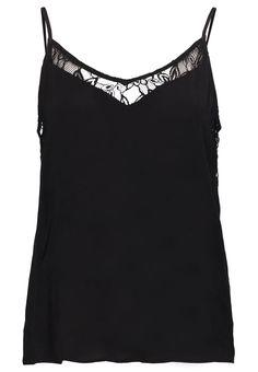 Vila VICRAFTER Top black Bekleidung bei Zalando.de | Material Oberstoff: 100% Viskose | Bekleidung jetzt versandkostenfrei bei Zalando.de bestellen!