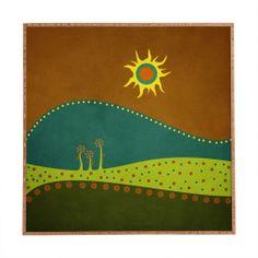 Viviana Gonzalez Spring Landscape 1 Framed Wall Art | DENY Designs Home Accessories