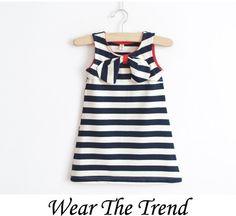 wear the trend stripe dress