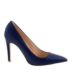Everly satin pumps by J.Crew