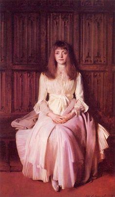 Elsie Palmer, 1888 (John Singer Sargent) (1856-1925)    Colorado Springs Fine Arts Center