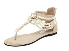 Free2mys Women's Beaded Gladiator Sandal -- Check out the image by visiting the link.