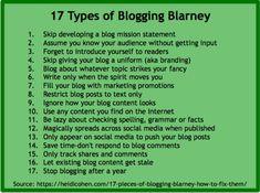 blogging blarney