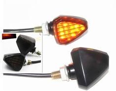 Front Rear LED Turn Signals Blinker Indicator Amber For Kawasaki NINJA 250R S U3
