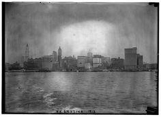 New York Skyline; 1913