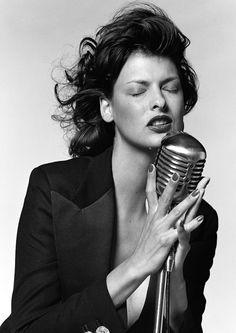 Linda Evangelista (Photography by Bruce Weber)